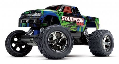 Traxxas Stampede VXL 2WD Brushless Monster Truck, Green