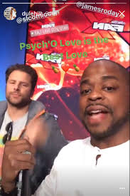 Psych Halloween Episodes by Dule Hill Instagram Stories With James Roday At Psych Event In