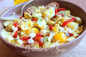 salade de pâtes froide italienne recettes faciles recettes
