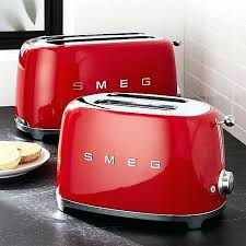 Blue Toasters Appliances Retro Toaster 2 Or 4 Slice Cream Black Mint Pink Red Stainless
