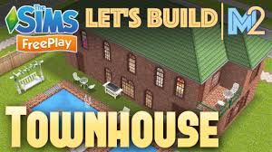 Sims Freeplay Second Floor by Sims Freeplay Let U0027s Build A Townhouse Live Build Tutorial