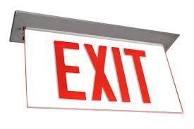 mule lighting emergency lighting exit signs