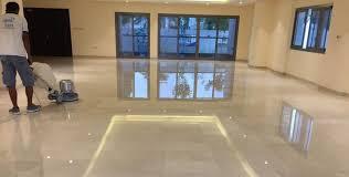 Natural Stone Restoration Floor Polishing