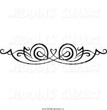 Swirl Clipart Wedding Heart 2