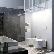 schwarzer marmor badezimmer mikolajskastudio moderne