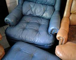 Leather Tufted Chair And Ottoman by Leather Tufted Chair Etsy