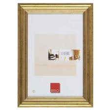 brio cadre photo circée classique doré 60x80 cm achat vente