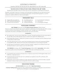 Restaurant Supervisor Resume Sample Hotel Manager Template
