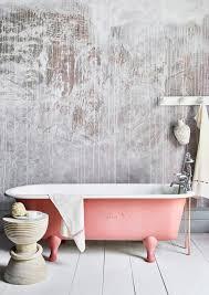 rustikales gips effekt badezimmer sloan