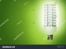 bright energy efficient light bulb consisting stock photo 71329747