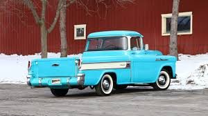 1958 Chevrolet Cameo Pickup | F197.1 | Houston 2015 1958 Chevrolet Apache Stepside Pickup 1959 Streetside Classics The Nations Trusted Cameo F1971 Houston 2015 For Sale Classiccarscom Cc888019 This Chevy Is Rusty On The Outside And Ultramodern 3100 Sale 101522 Mcg 3200 Truck With A Twinturbo Ls1 Engine Swap Depot Editorial Stock Image Of Near Woodland Hills California 91364 Chevrolet Pickup 243px 1 Customer Gallery 1955 To