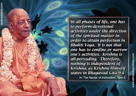 Quotes By Srila Prabhupada On Performing Devotional Activities