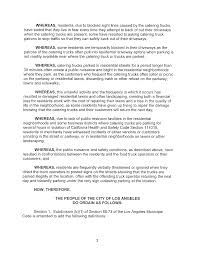 ORDINANCE NO. An Ordinance Amending Section 80.73(b) Of The Los ... How To Protect Your Food Trucks Bottom Line Loss Prevention Jan 30 Start Truck Business Free Workshop The Restaurant Licenses And Permits You Need To Open Jacksonville Schedule Finder Plan Template Arooma Food Trucks Pinterest Fire It Up Tacosfeelin Saucyfire Carts Emerging Option For Ups Chapter 8 Organization Starting A What Are Writing A Word Sample For Small An