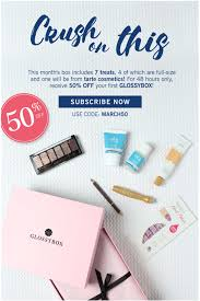 Last Call! GlossyBox Coupon - 50% Off Your First Box! | MSA Emirates Promotional Codes 70 Off Promo Code Oct 2019 Myntra Coupons 80 New User 1000 Uber Coupon First Ride Free Uberdavelee Emails 33 Examples Ideas Best Practices Hubspot Dynamic Generation Gs1 Databar Format Barcodes Neiman Marcus Deals Cheap Motels Near Ami Airport Select Bali Playtex Maidenform Bras 9 Store Pickup At Macys Official Travelocity Discounts Studio Calico Last Call 999 Past Kits Sale Msa Call 40 Off Ends Today Additionelle Email Archive