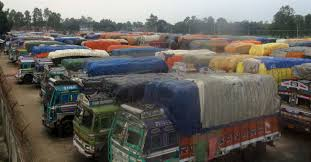 Trade Halts As Indian Truckers On Strike | The Daily Star