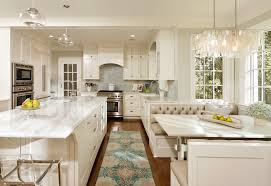 Modern Booth Seating Kitchen Traditional With Breakfast Nook Wood Flooring Eat In