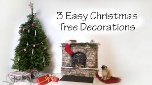 Christmas Tree Decorations Ideas Youtube by Quick Easy Miniature Christmas Tree Decoration Tutorial Youtube