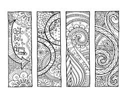 Coloring Bookmarks Pictures For Bookmark Pages