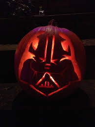 Darth Vader Pumpkin Carving Ideas by October 2012 Michael J Martinez