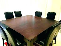 Square Dining Room Table For 8 Chairs Seats Large