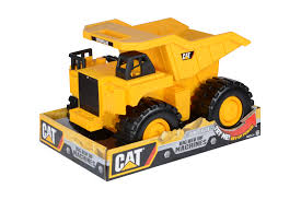 Caterpillar 18 Inch Push Powered Big Rev It Up Dump Truck ...