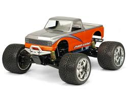 100 Chevy Toy Trucks ProLine 72 C10 Pick Up Monster Truck Body Clear PRO3201