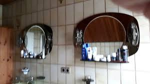 badezimmer spiegel rauchglas beleuchtung ablage