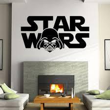 Star Wars Room Decor by Star Wars Wall Decal Darth Vader Vinyl Sticker Boys Bedroom Wall