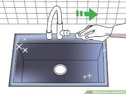 Kitchen Sink Film Wiki by 3 Ways To Clean A Granite Sink Wikihow