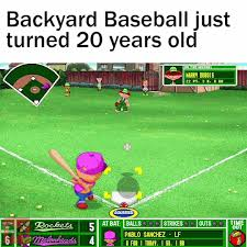 Machinima - Backyard Baseball Just Turned 20 Years Old 😯 Collection Of Solutions Pablo Sanchez The Origin A Video Game Backyard Basics 2 Sports Soccer Tv Special History Youtube Amir Khan Back In His Baseball Days Boxing Why Does This Look So Familiar By Idpirate52 On Deviantart Pablo Mvp Part 1 Humongous Eertainment Franchise Giant Bomb 2001 Demo Free 1997 Season 13 Hit How Far The Vec Vs Football Head Bequarter2008 Image Baby Backyardibabies Cap Jpg Ideas
