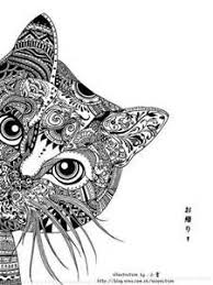 Zentangle Animals Coloring Pages Printable