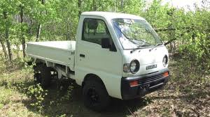 Suzuki Carry Mini-Truck With Dump Box - YouTube