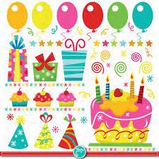 Celebration Clipart Birthday Decoration 8