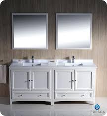 72 Inch Double Sink Bathroom Vanity by Vanities Virtu Usa Victoria 72 Inch White Double Sink Vanity Set