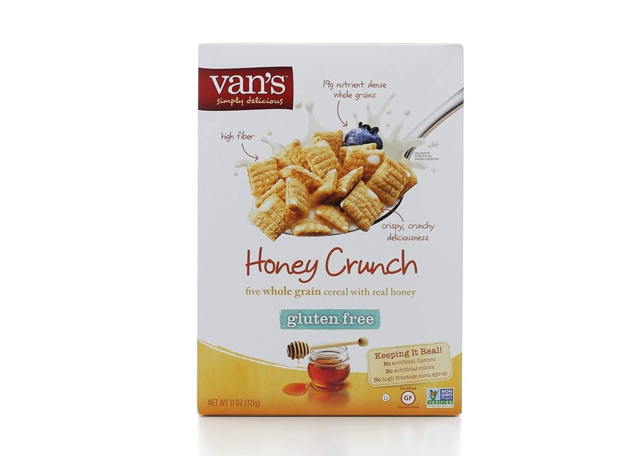 Van's Natural Foods Gluten Free Honey Nut Crunch Cereal