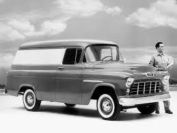 1955 Chevy 3100 Panel Truck, Chevy Panel Truck | Trucks Accessories ...