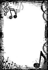 Free Music Borders Clip Art Grunge Music Frame By Xnerd On
