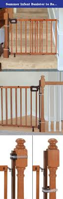 Summer Infant Banister To Banister Universal Gate Mounting Kit ... Amazoncom Summer Infant Deluxe Stairway Simple To Secure Wood Gate For Top Of Stairs With Banister The 6 Baby Gates Regalo Extra Tall 2754 With Swing Door Ideas Mounting Hdware All The Best Multiuse Walkthru Of Metal Sure Customfit 9198 Toddler Multi Use Walk Thru White Youtube 33 In And Stair Dual Deco