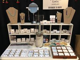 Jewelry Display Table At The Boston Gift Show