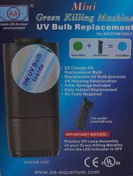 mini uv sterilizer replacement bulb green killing machine