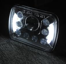 1set Super Bright Rectangle 55W 7x5 7inch Led Headlight Black Truck ... 092014 Ford F150 Pickup Truck Black Led Tube Bar Projector Halo Headlight Accent Lights With T314 Adapter Super Bright Leds Best 5 X 7 90w Square Led Driving Lamps With Hilo Lite Heated Headlamps Youtube Lumen Sb7655hlblk 7x6 Rectangular Headlights Headlight Bulbs Forum Community Of Fans 5x7 Buy Promotion Inch For 4x6 Polycarbonate Lens Alinum Low Fxible White And Amber For Custom 2 Pcs 4x6 Inch 12v 24v Trucks Trucklite Installation Writeup A Jeep Xj Cherokee Auto Headlamp 6x7 High
