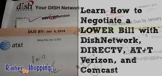 How to Negotiate a Lower Bill with DishNetwork cast DIRECTV AT&T and Verizon