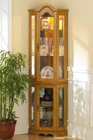 southern enterprises lighted corner display cabinet display cabinets