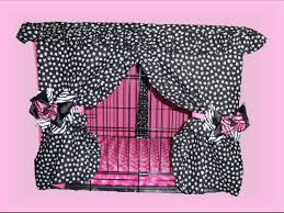 Dog Crate Cover Ruffles and Bows Crate Cover and Pad