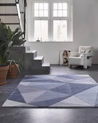 teppich blau grau kurzflor next time wecon home