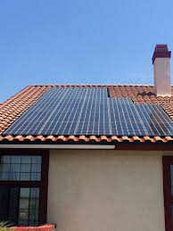 tile roof solar installation project by t g roofing upland ca