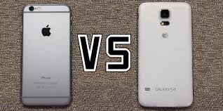 iPhone 6 vs Samsung Galaxy S5 vote for the better smartphone
