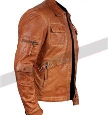 camel colored faux leather jacket sale
