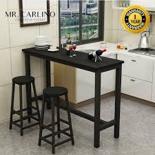 Buy Stylish Bar Tables   Furniture   Lazada.sg Kitchen Pub Tables And Chairs Fniture Room Design Small Kitchenette Table High Sets Bar With Stools Round Bistro Bistro Table Sets Cramco Inc Trading Company Nadia Cm Bardstown Set With Bench Michaels Contemporary House Architecture Coaster Lathrop 3 Piece Miskelly Ding Indoor Baxton Studio Reynolds 3piece Dark Brown 288623985hd 10181 Three Adjustable Height And Stool Home Styles Arts Crafts Counter