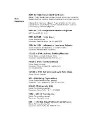 Sample Resume Factory Worker Samples Construction